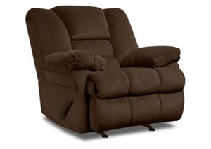 50412 Dynasty Chocolate Rocker Recliner