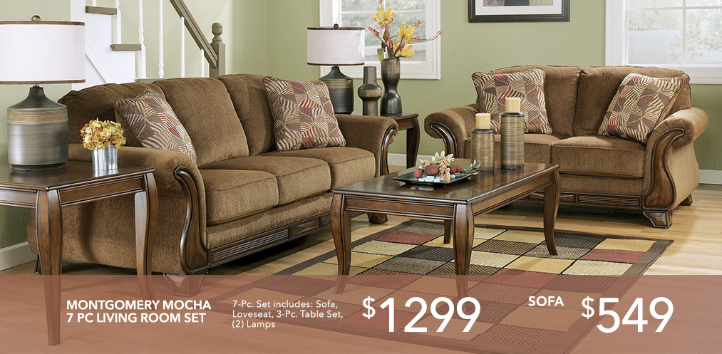 Montgomery Sofa Loveseat Set
