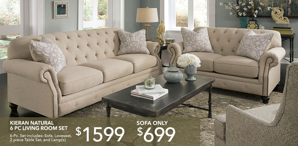 Sofa and Loveseat Package