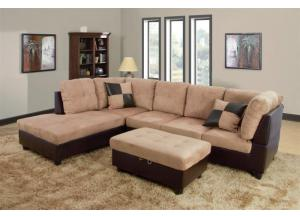 Biege Sectional