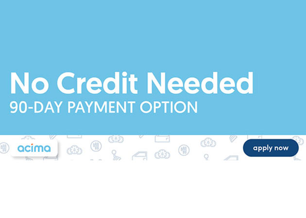 No Credit Needed With Acima Financing
