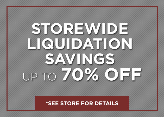 Storewide Liquidation Savings In Salt Lake City, UT