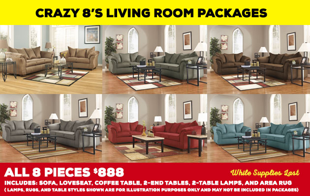 Affordable Living Room Furniture Packages in Avon, MA