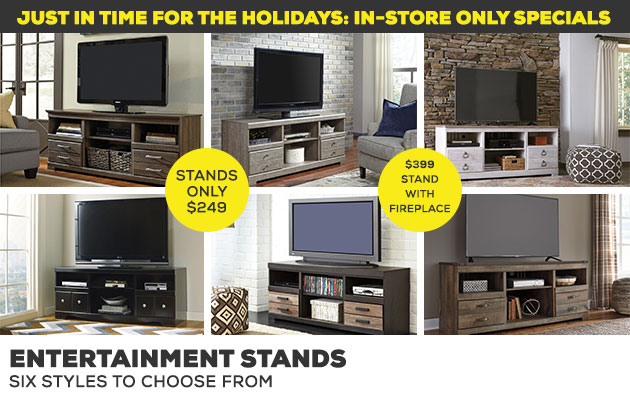 Holiday In-store specials