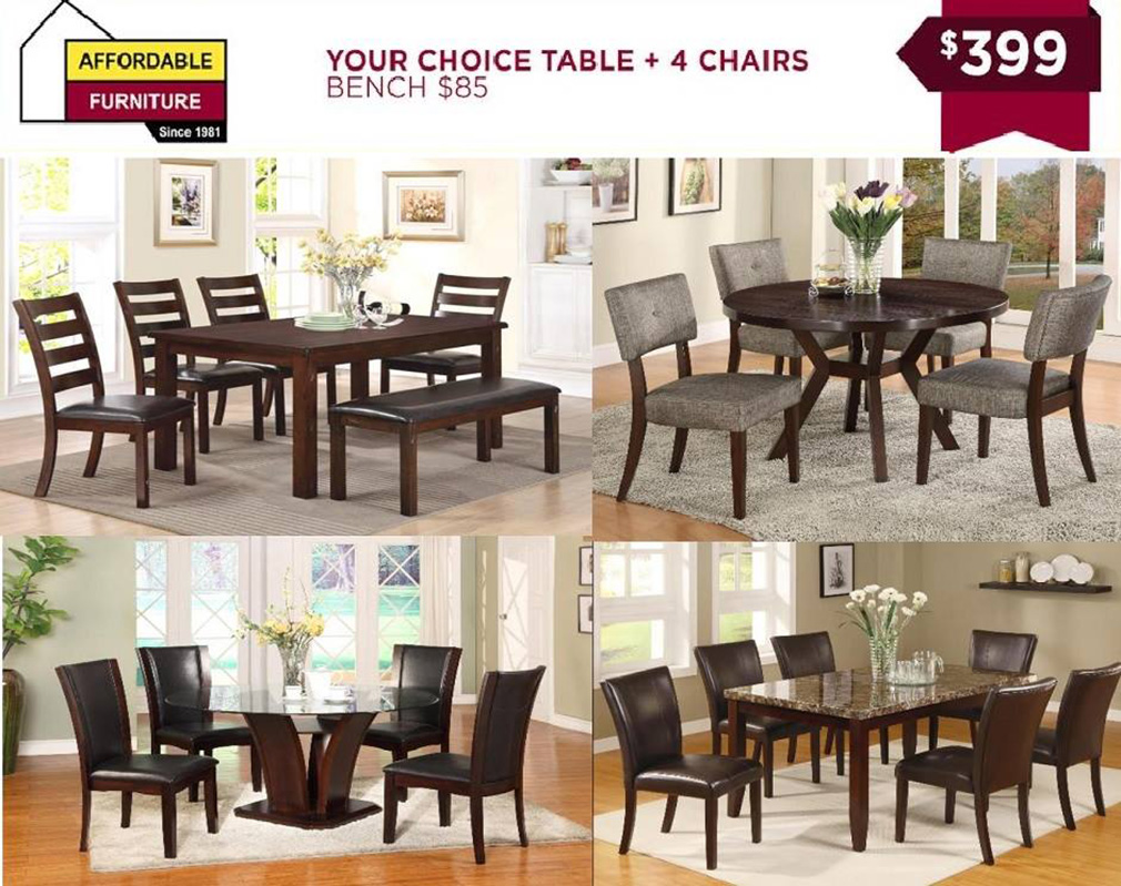 Your Choice Table and Chairs