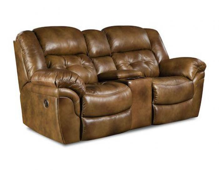 Alabama Furniture Market Cheyenne Saddle Reclining Loveseat