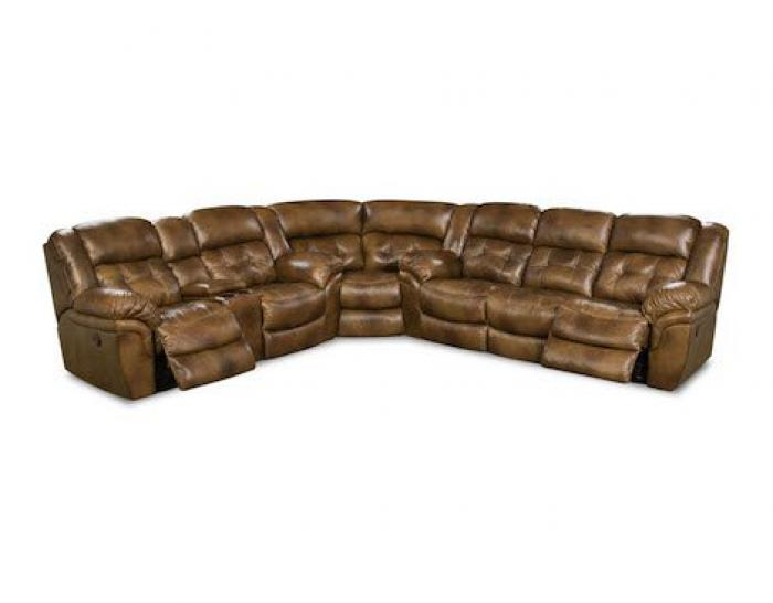 Cheyenne Saddle Reclining Sectional,HomeStretch