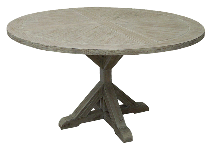 Alabama Furniture Market Urban Industrial Round Table In Toscano Grey