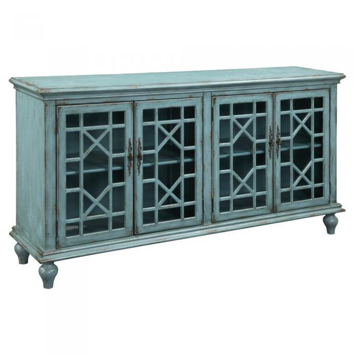 Bayberry Blue Media Credenza