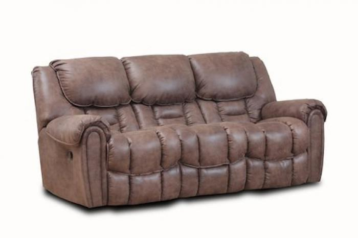 Alabama Furniture Market Del Mar Mocha Reclining Sofa