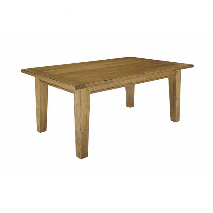 Attic Heirlooms Natural Oak Dining Table
