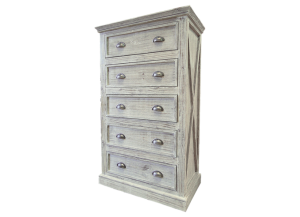 Urban New York Chest in Toscano Grey,Texas Rustic