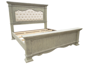 Urban Fifth Ave. Queen Bed in Toscano Grey,Texas Rustic