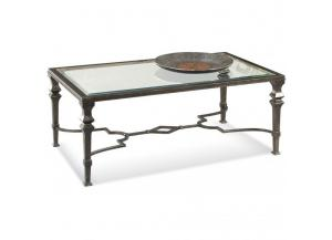Lido Rectangle Cocktail Table,Bassett Mirror Company