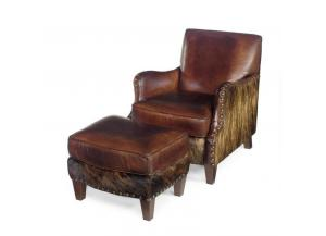 Lanelli Club Chair with Ottoman