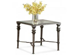 Lido Square End Table,Bassett Mirror Company