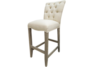 North Park Bar Stool in Toscano Grey,Texas Rustic