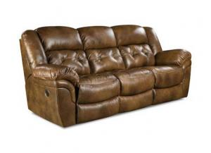 Cheyenne Saddle Reclining Sofa,HomeStretch