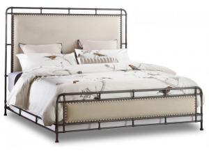 Studio 7H King Upholstered Metal Bed,Hooker Furniture