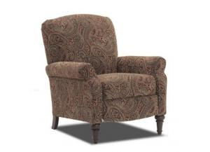 Claire Classic Paisley High Leg Recliner,HomeStretch