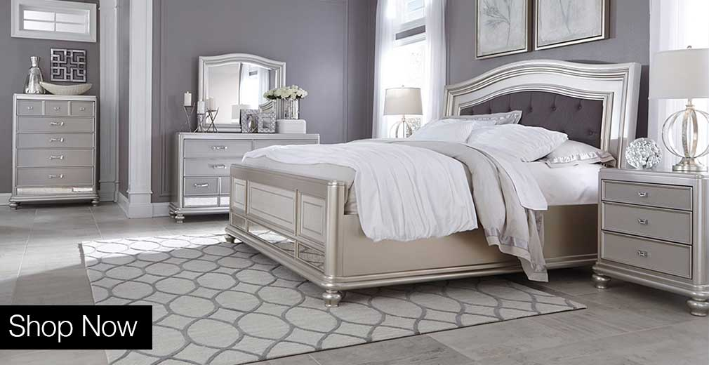 Mirror Front Queen Bedroom Set