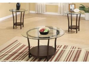 F3095 3 piece coffee table set