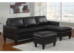 F7297 All-in-one sectional with ottoman