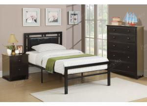 F9413 Full Youth Bed with chest and nightstand