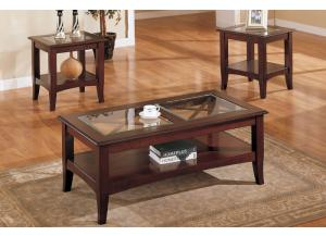 F3075 3 piece coffee table set