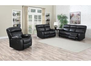 Hilton sofa and Loveseat with optional rocker recliner for $359.00