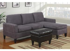 F7285 All-in-one sectional with ottoman