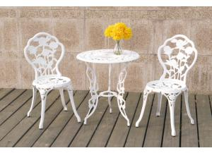 P50203 3 piece bistro set cast aluminum/iron