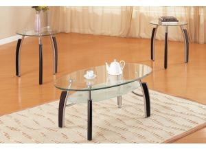 F3077 3 piece coffee table set
