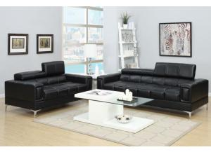 F7239 2 piece sofa set with tilting headrests
