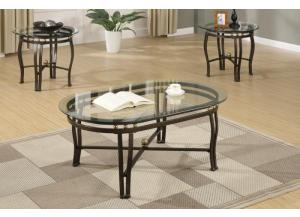 F3093 3 piece coffee table set