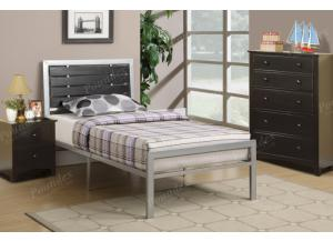 F9412 Full Youth Bed with chest and nightstand