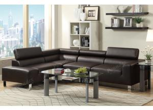 F7299 2 piece Sofa with reversable chaise