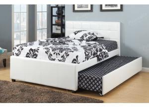 F9216 Full Bed with trundle, slats included (Bedding sold seperately