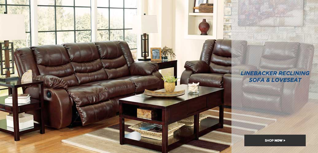 Linebacker Reclining Living Room
