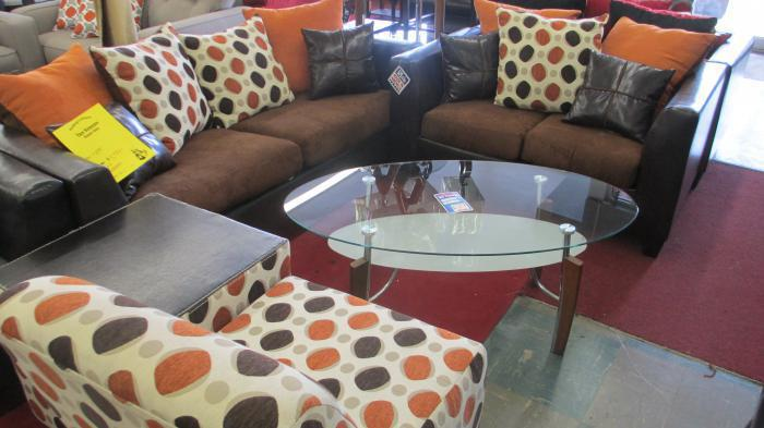 Pokadot Sofa and Love was $799.00  Now $599.00,MORE CLEARANCE