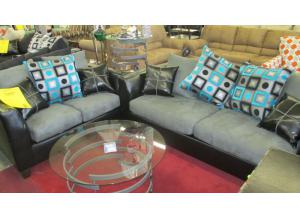 Tudor Blue Sofa and Love was $799.00  Now $599.00