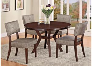 Kayla 5pc Dining Set,Couch Potatoes