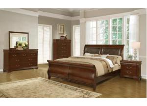 Melanie Queen Bedroom Set,Lifestyle