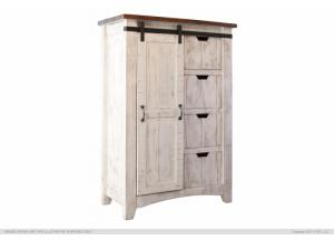 Pueblo White Chest,International Furniture Direct