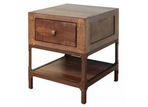 Urban Gold End Table,International Furniture Direct