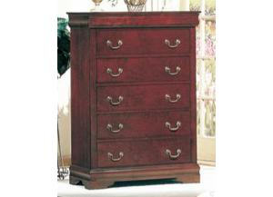 Louis Phillip Chest - 9180 Masters,Discount furniture