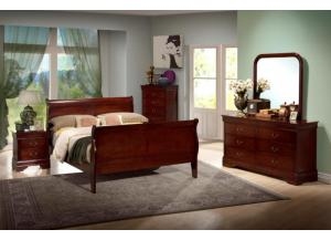 Louis Phillip Full Bed Set - 9180 Masters