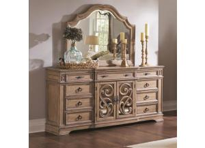 Ilana Collection Dresser/Mirror,Coaster Fine Furniture