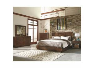 Avery Collection Q Bed, Dresser/Mirror, & Chest,Coaster Fine Furniture