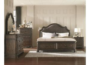 Carlsbad Queen Storage Bed, Dresser, Mirror, Chest,Coaster Fine Furniture